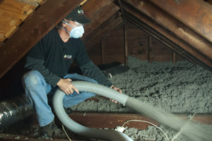 Cellulose Insulation Installation In The Midlands